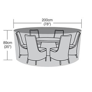200cm Diameter Round Table