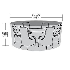250cm Round Table