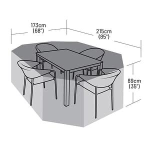 0571 - 4-seater-rectangular-patio-set-cover