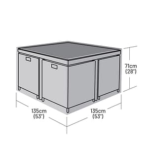 CB-CUBE-4LARGE - CB-CUBE-4LARGE - 4-seater-rectangular-rattan-cube-set-large