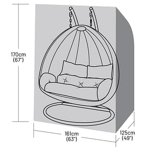 double-hangingchair-cover