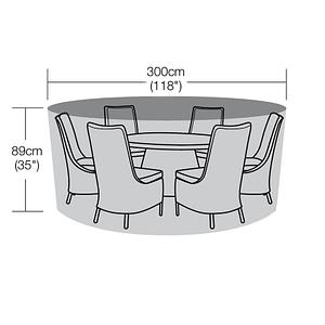 300cm Diameter Round Table