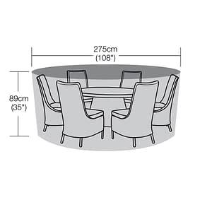 275cm Diameter Round Table