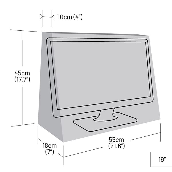 19 inch TV Cover