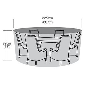 225cm Diameter Round Table
